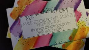 All Wrapped Up https://www.facebook.com/All-Wrapped-Up-152325772115934/